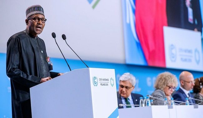 No country can confront climate change alone, says Buhari at COP24