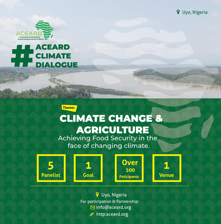 #ACEARD CLIMATE DIALOGUE